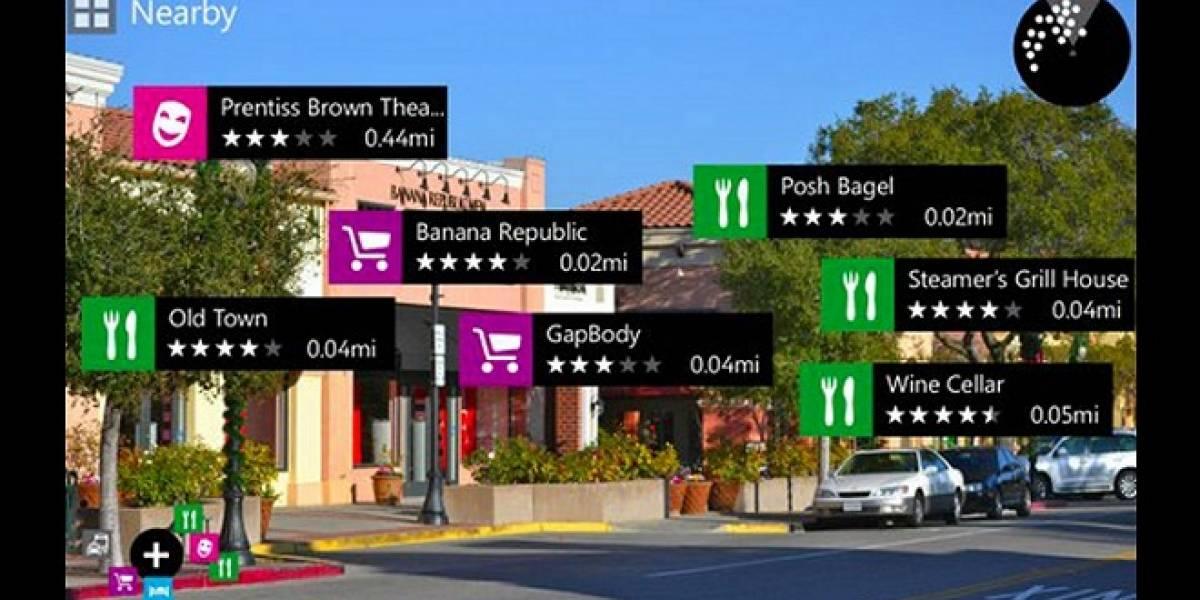 Nokia City Lens: Realidad Aumentada en tu Lumia