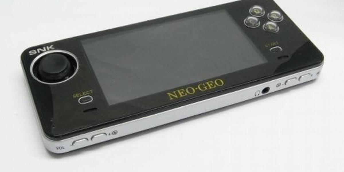Neo Geo está de vuelta en el mercado de las consolas portátiles