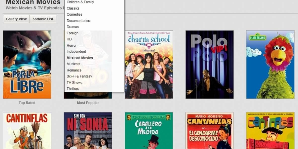 Netflix ya está disponible en México
