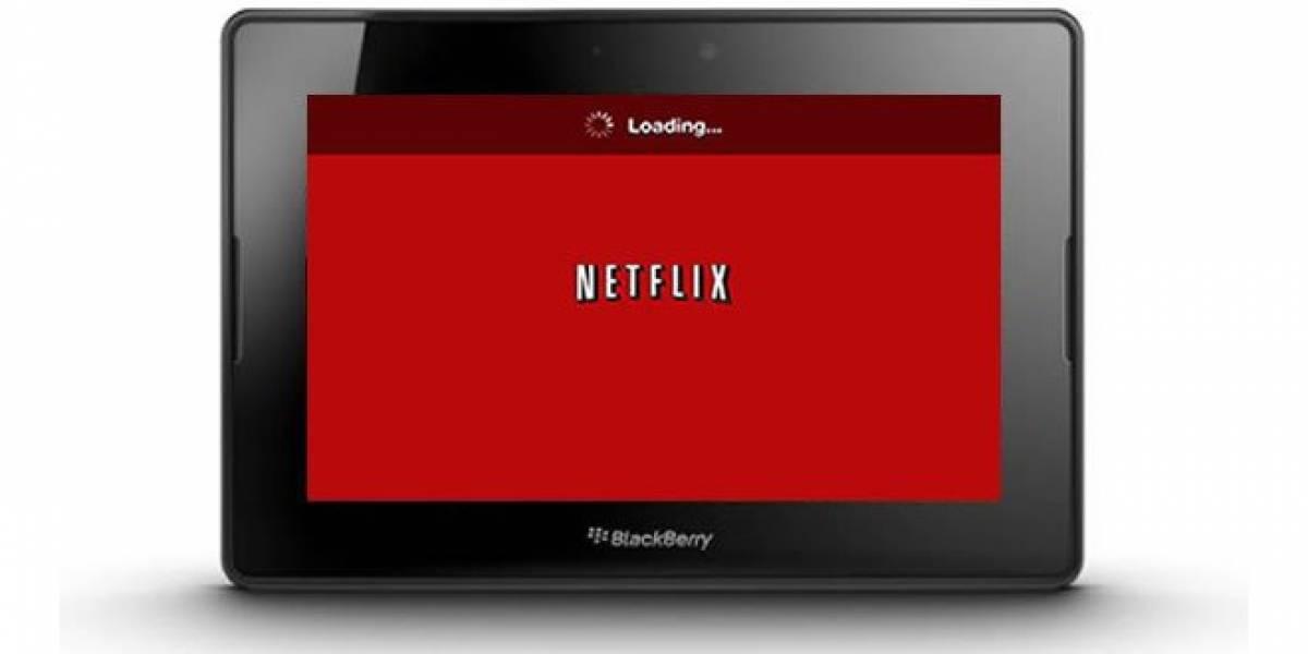 Netflix le rompe corazón a usuarios de BlackBerry