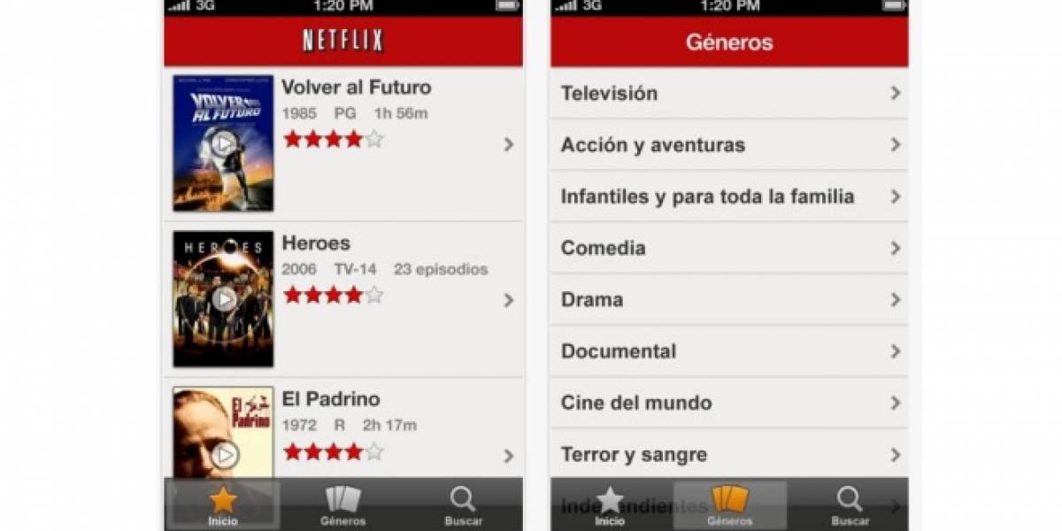 Netflix para iOS se actualiza a versión 2.0