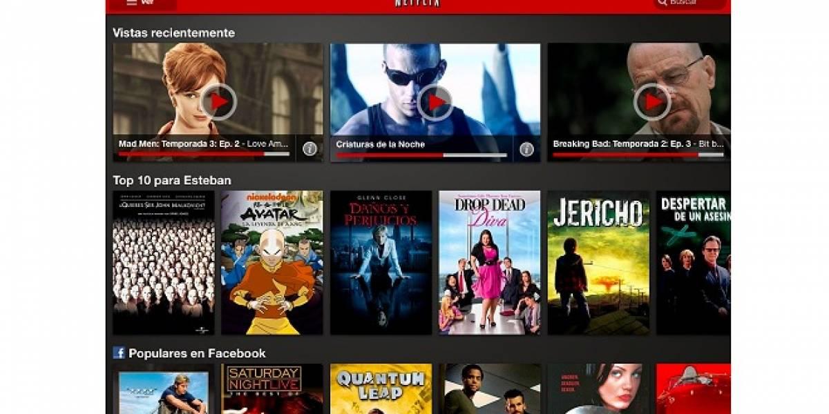 Netflix presenta su nueva interfaz en tablets con Android