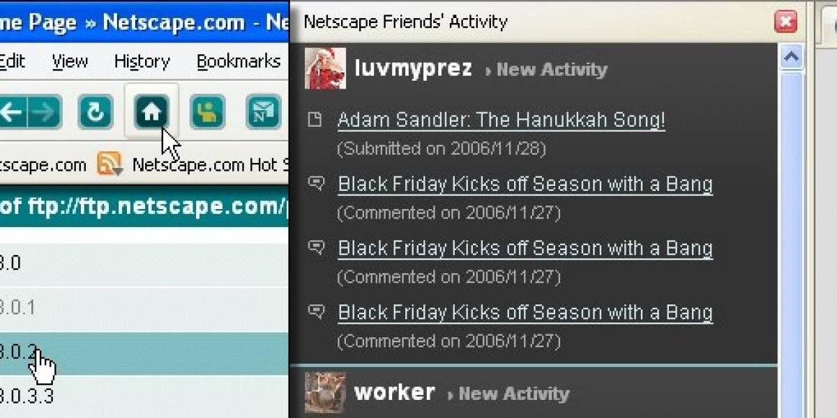 Netscape 9, basado en Firefox 2 y multiplataforma