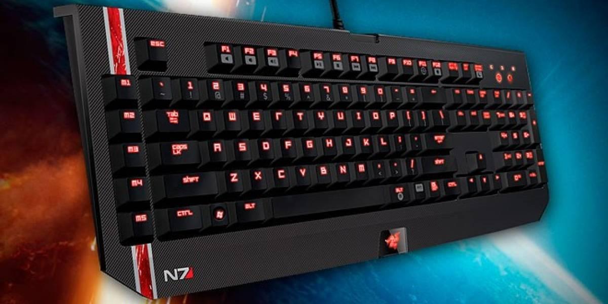 Razer se apunta con accesorios con DLC para Mass Effect 3