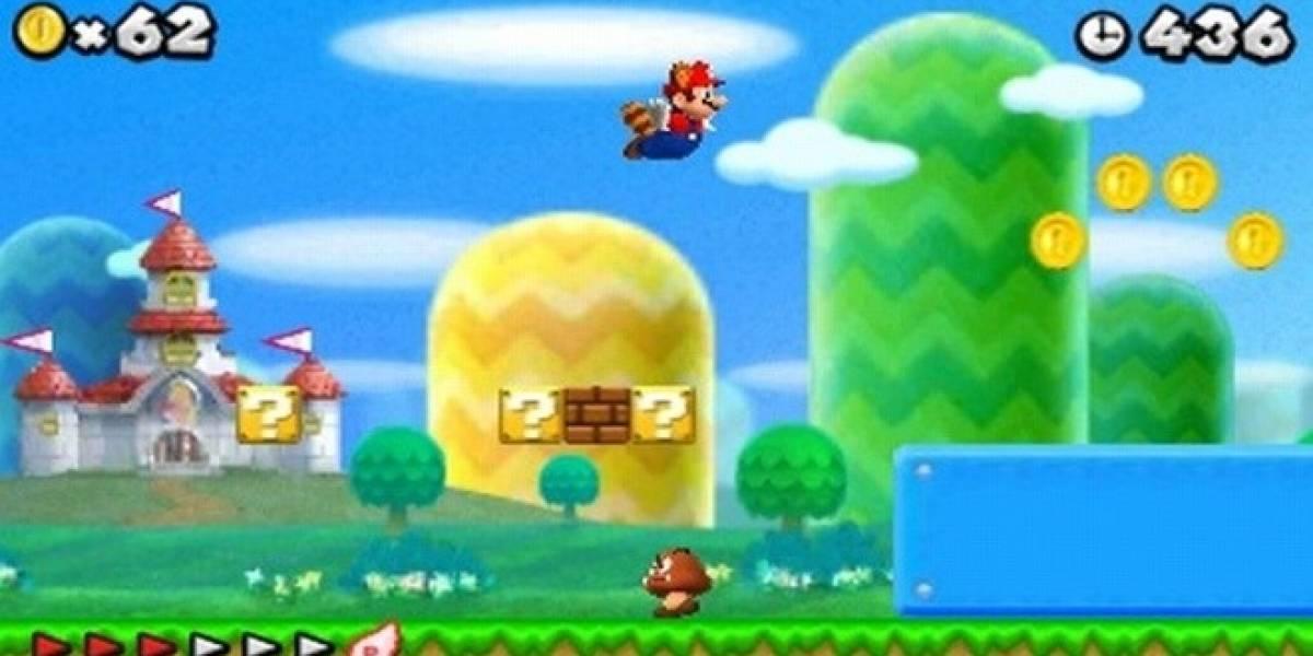 New Super Mario Bros. 2, anunciado para la Nintendo 3DS
