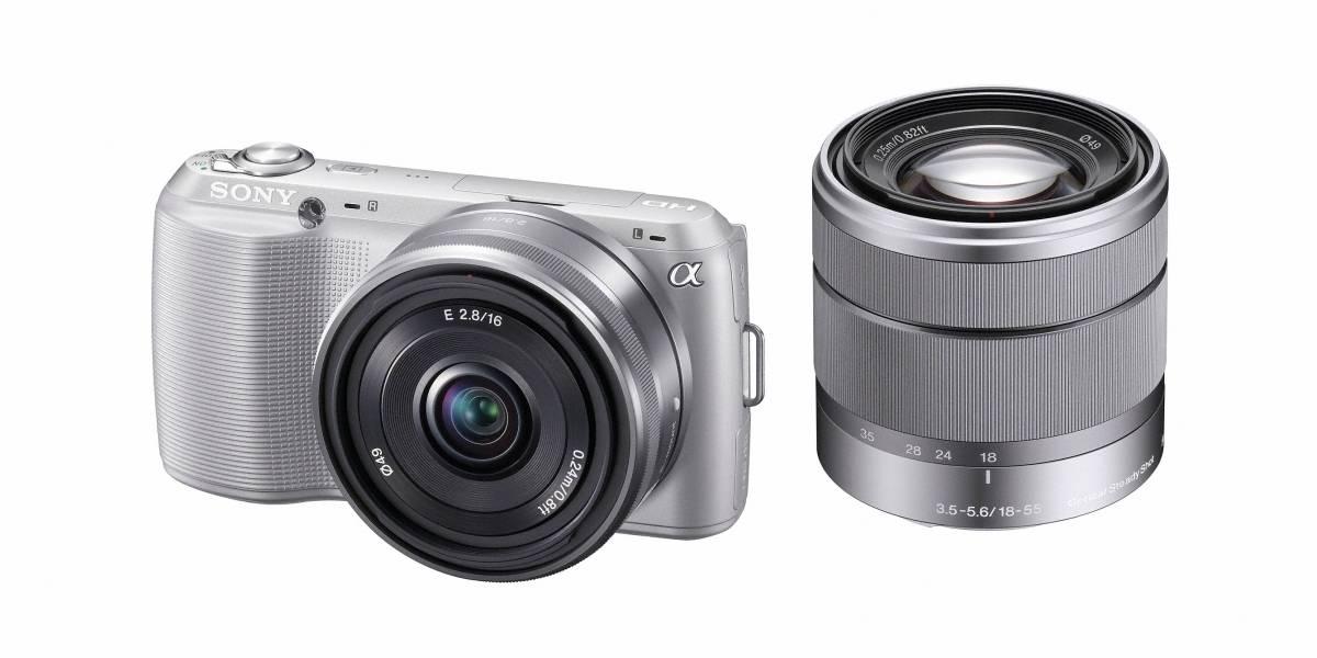 Sony lanza nuevas cámaras NEX-C3 y SLT-A35