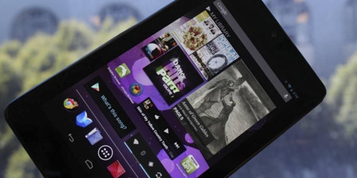 Pronto será añadido soporte para Internet 3G en el Nexus 7