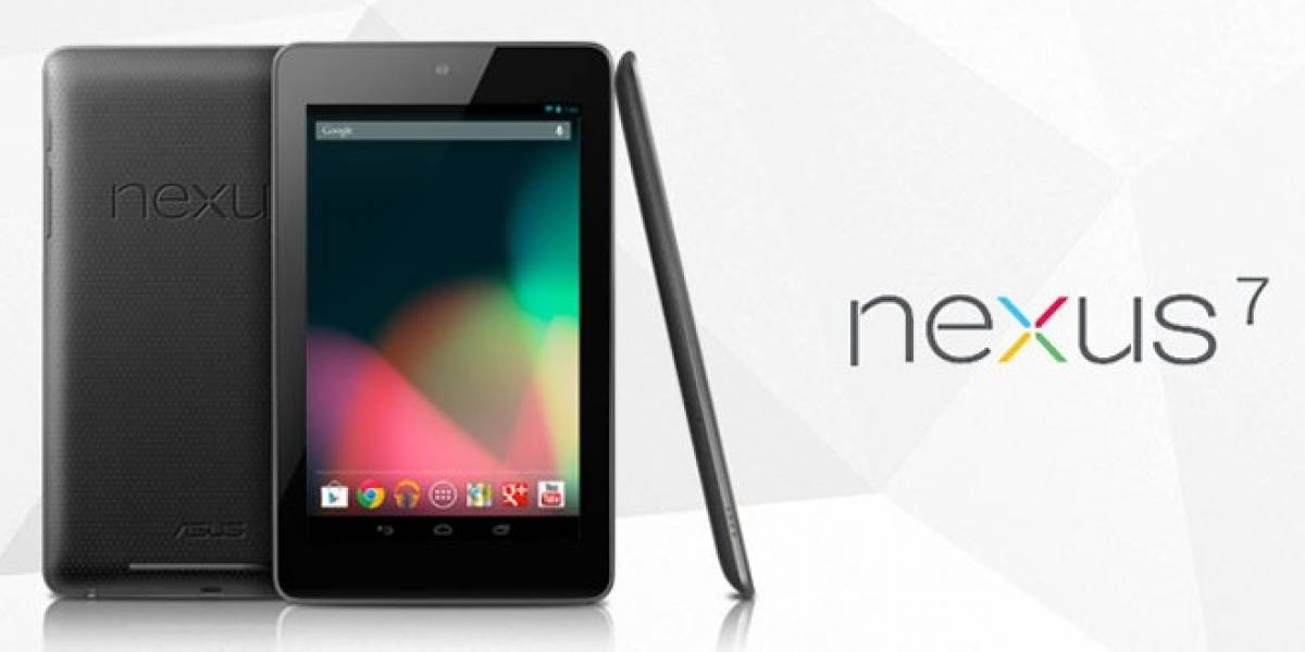 Error de Google confirma la tableta Nexus 7