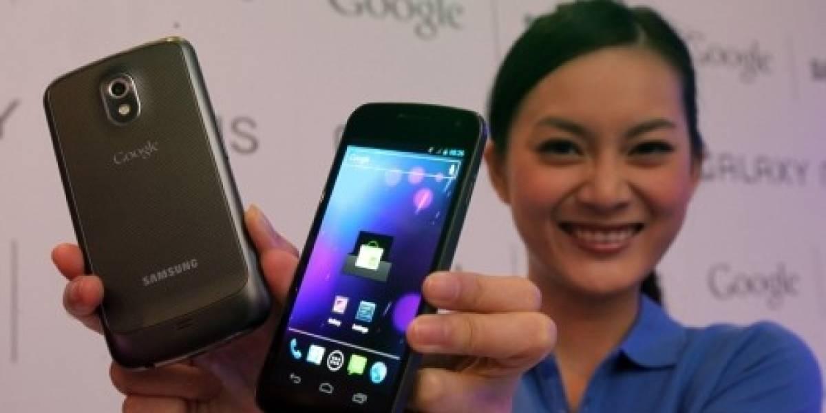 La cámara frontal del Galaxy Nexus es HD