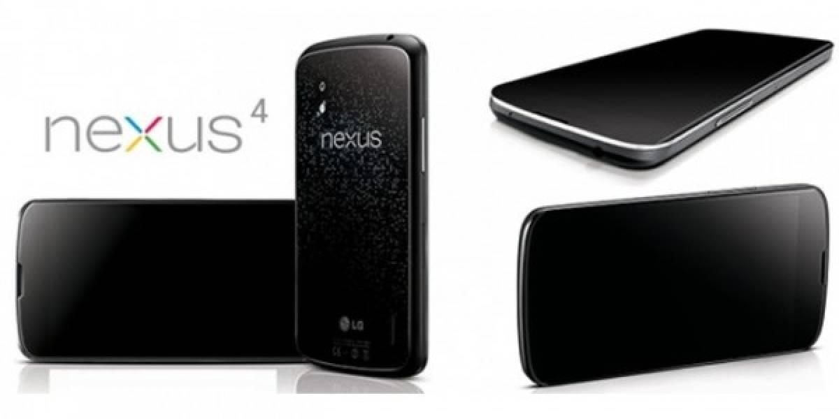 LG no puede fabricar tantos Nexus 4