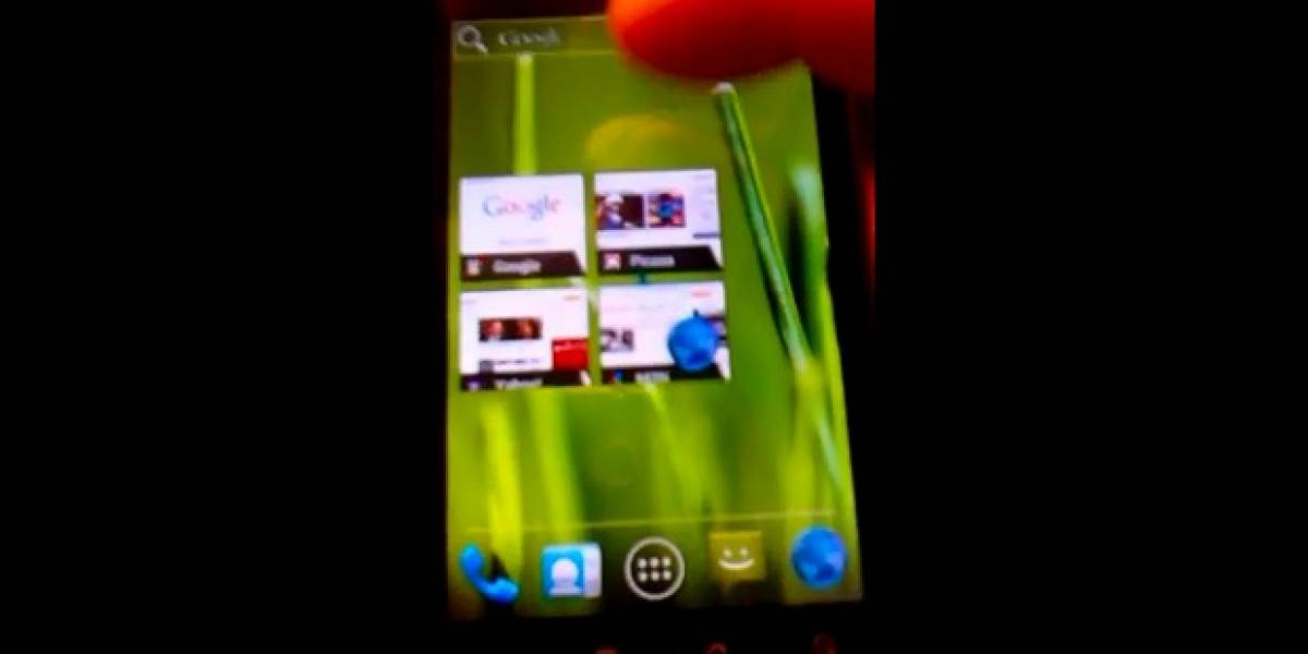 Video: Nexus One con Ice Cream Sandwich