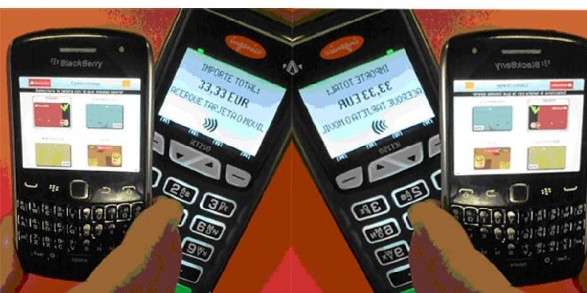 España: Banco Santander y Orange prueban un sistema de pago móvil con Blackberry