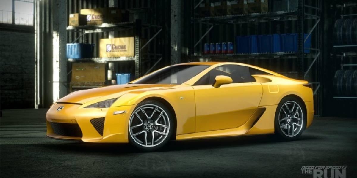 Siete autos exclusivos tendrá la versión de PlayStation 3 de Need for Speed: The Run