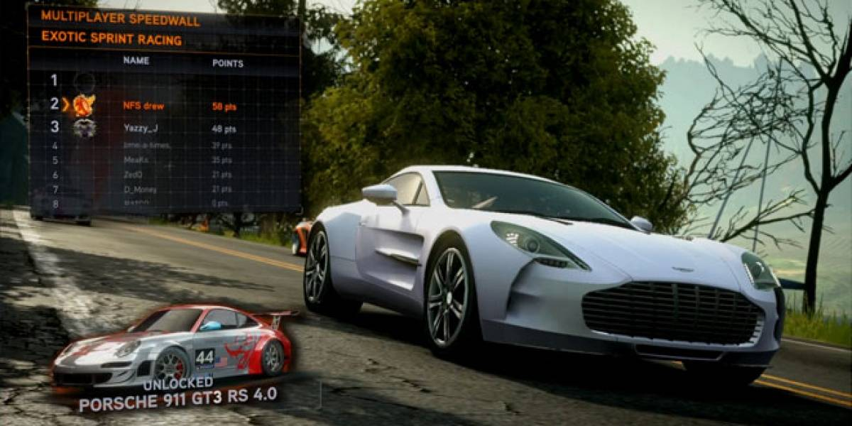 Así se juega al multijugador de Need for Speed: The Run