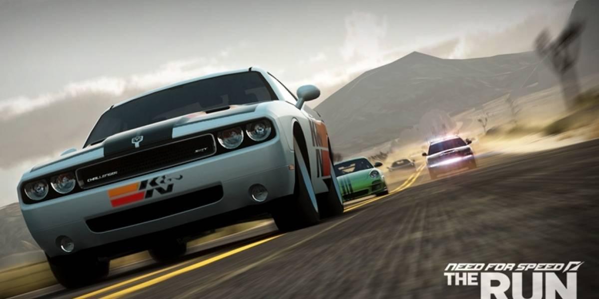 El concepto de Challenge Series en el nuevo trailer de NFS The Run