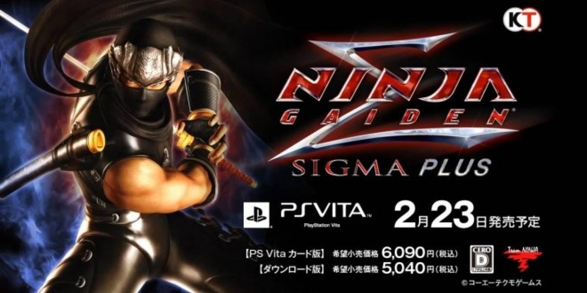 Ninja Gaiden Sigma Plus se muestra en un nuevo trailer