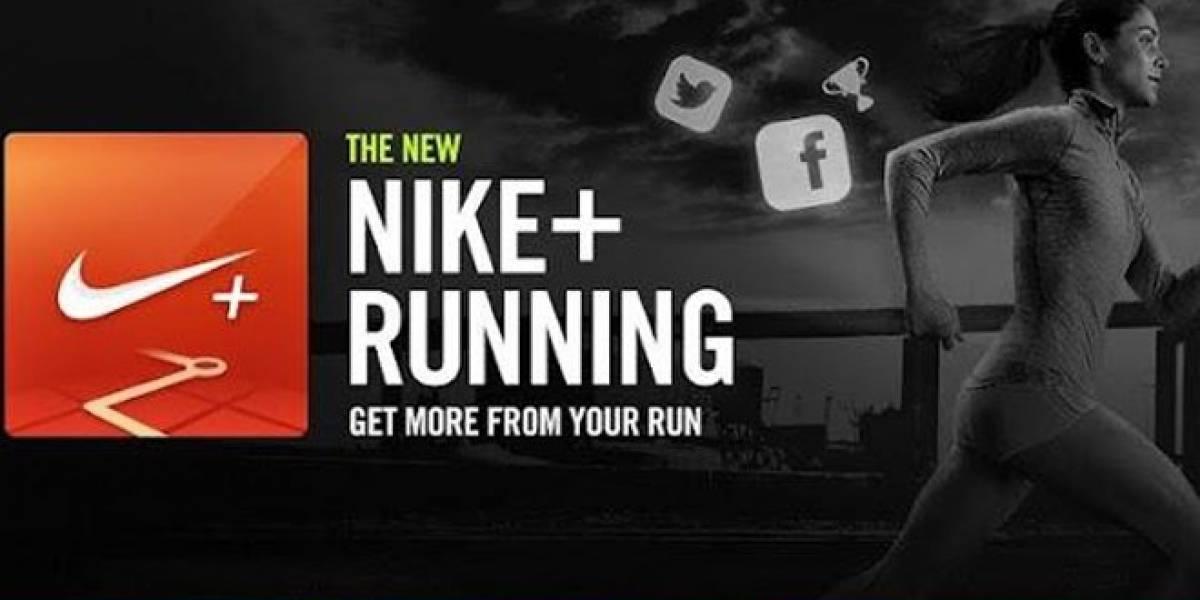 Nike+ Running llega a Android para hacer tus rutas mucho más entretenidas