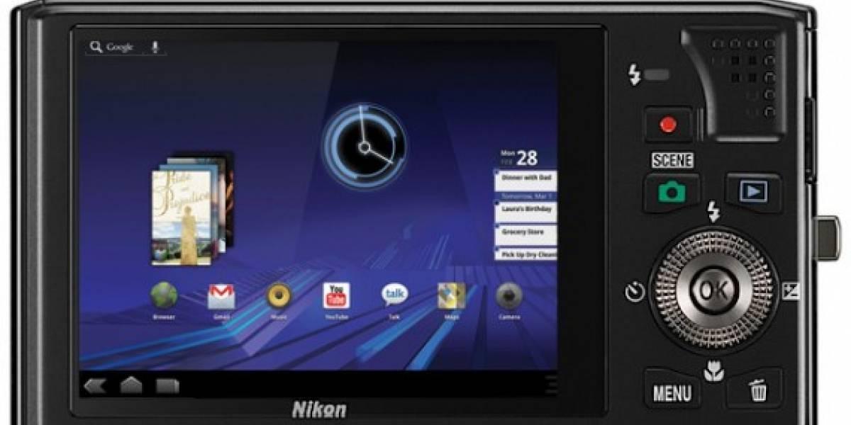 ¿Android en cámaras de fotos? Nikon prepara una con Gingerbread