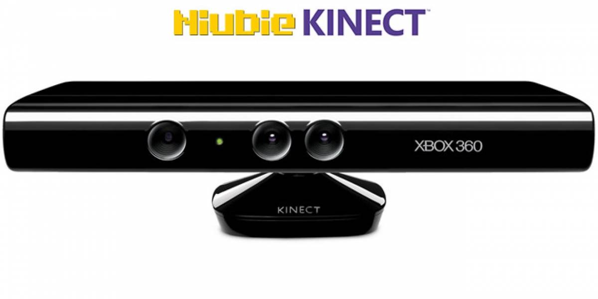 Navega en Niubie con Kinect