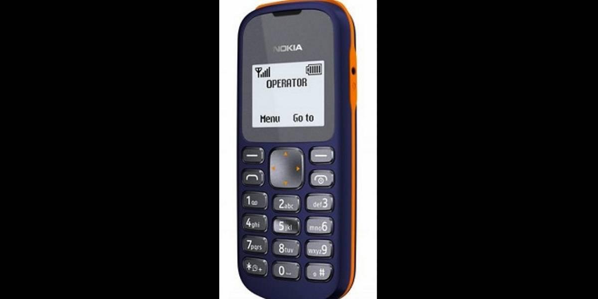 Nokia 103: Uno de los móviles más económicos de los finlandeses