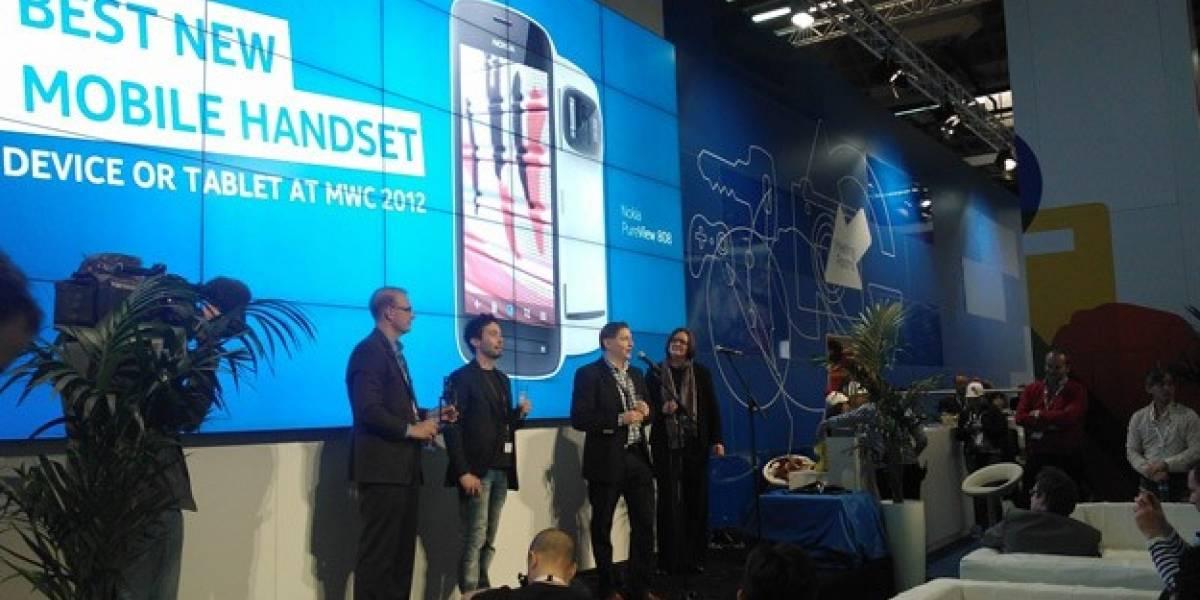 Nokia 808 PureView gana el premio al mejor dispositivo del MWC 2012