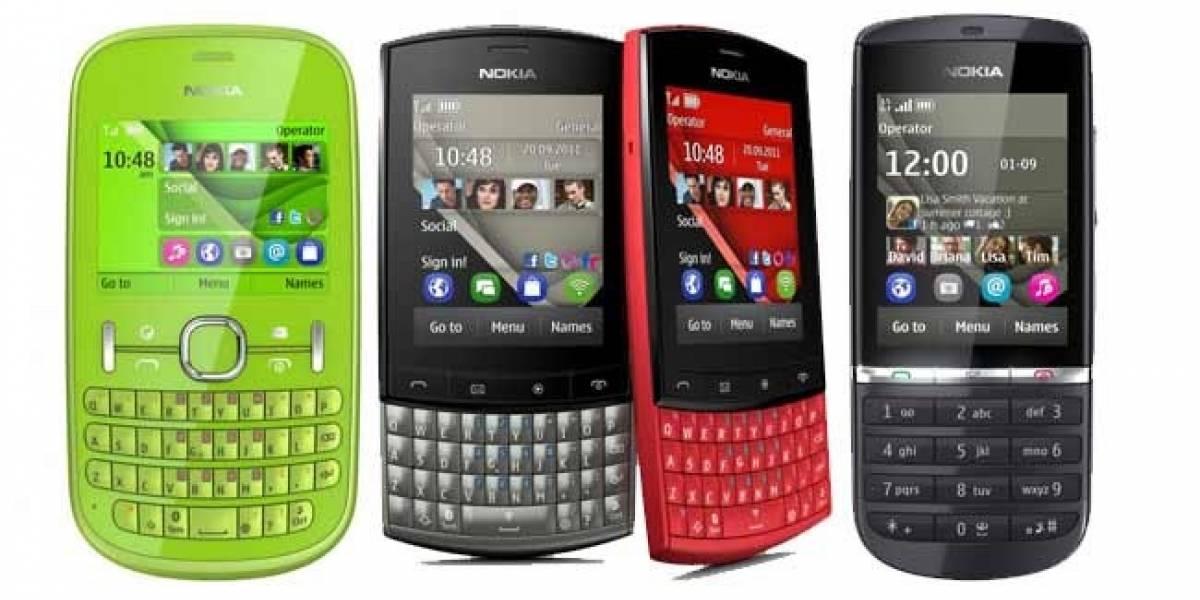 Nokia presenta a la familia Asha: 200, 201, 300 y 303