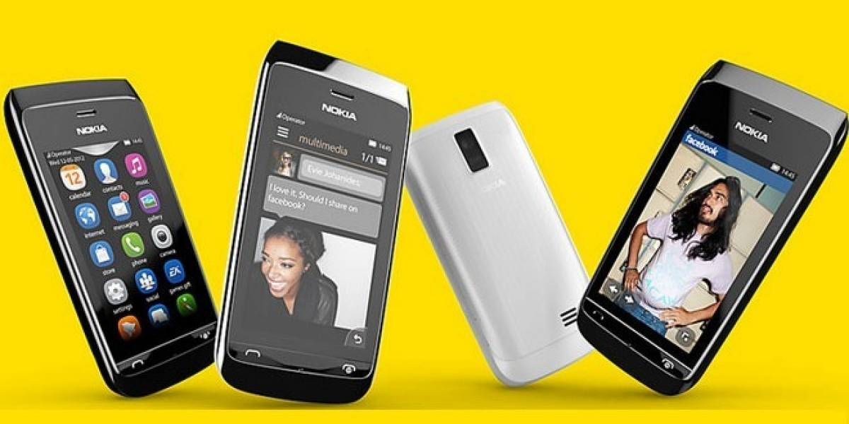 Nokia presenta dos nuevos miembros de su familia Asha