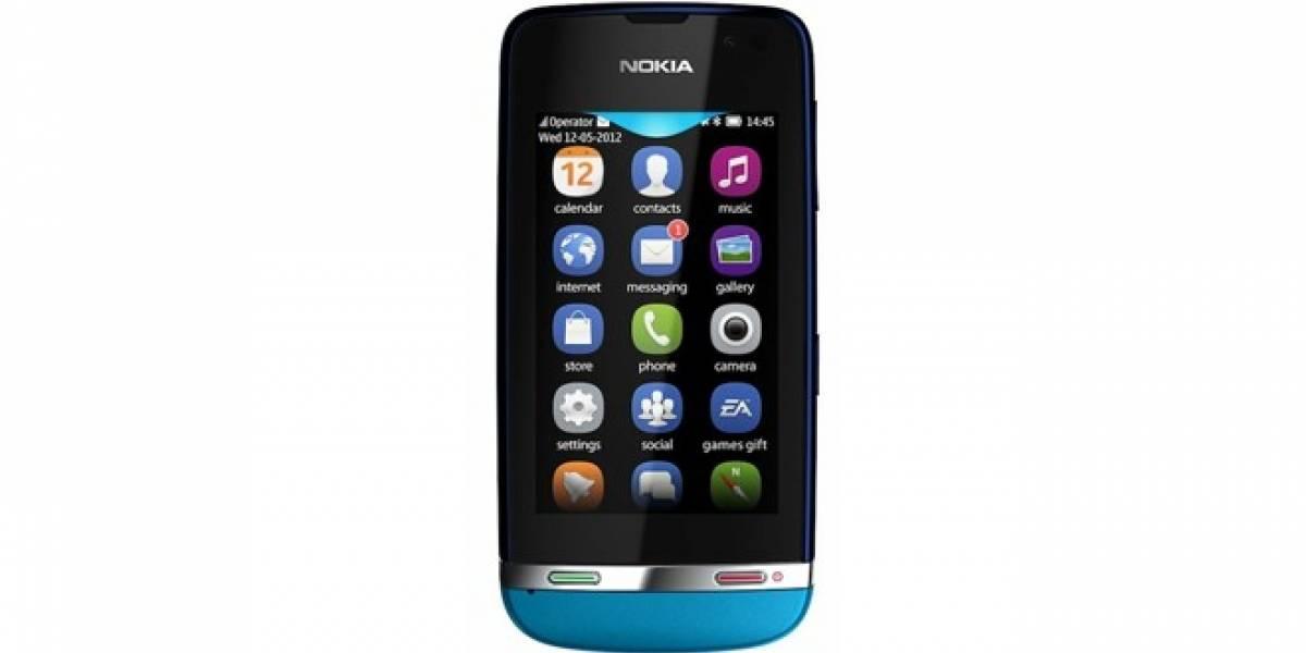 Nokia lanza sus primeros feature-phones con pantalla táctil completa