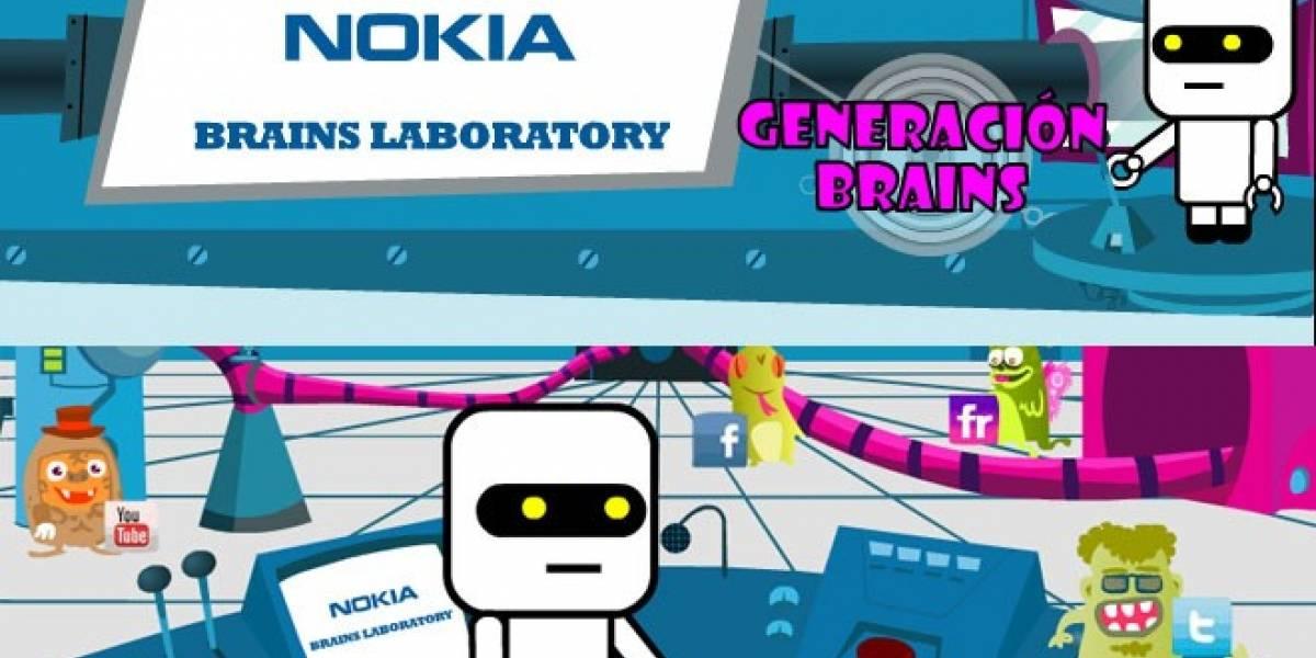 Vuelve Brains Laboratory: Nokia busca la aplicación móvil más original de España
