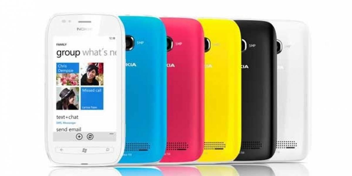 Nokia 710: Una versión más barata del Windows Phone 7