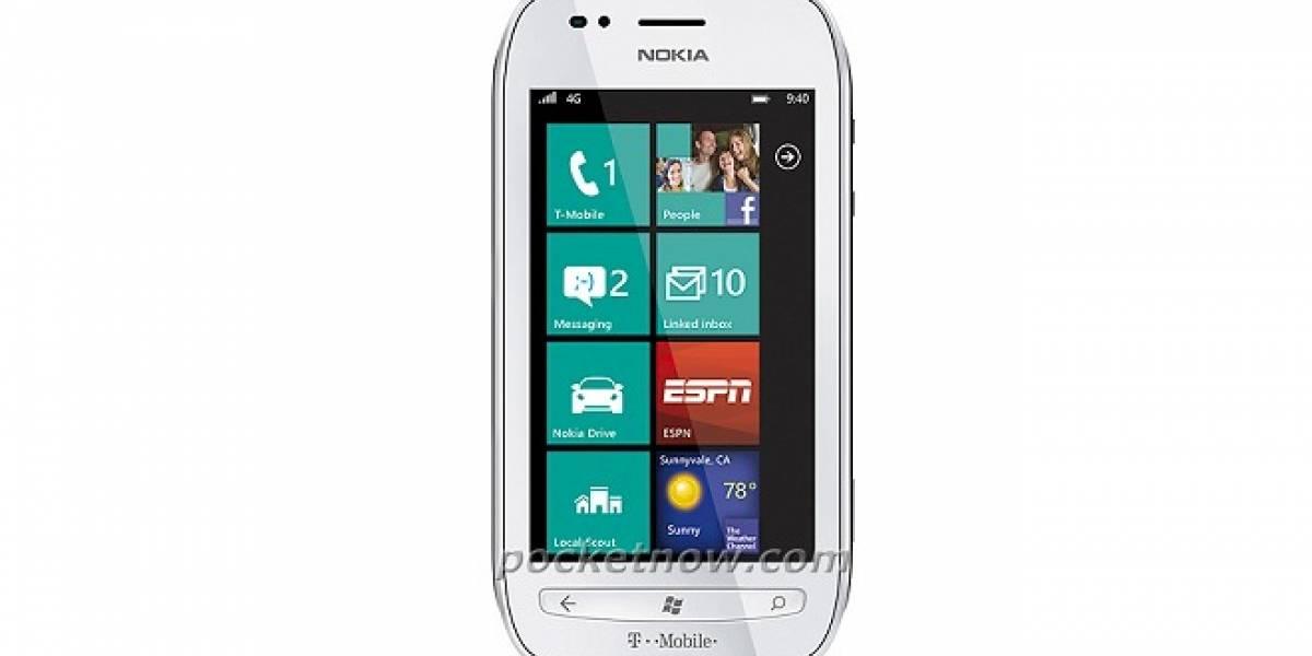Así es el Nokia Lumia 710 de T-Mobile