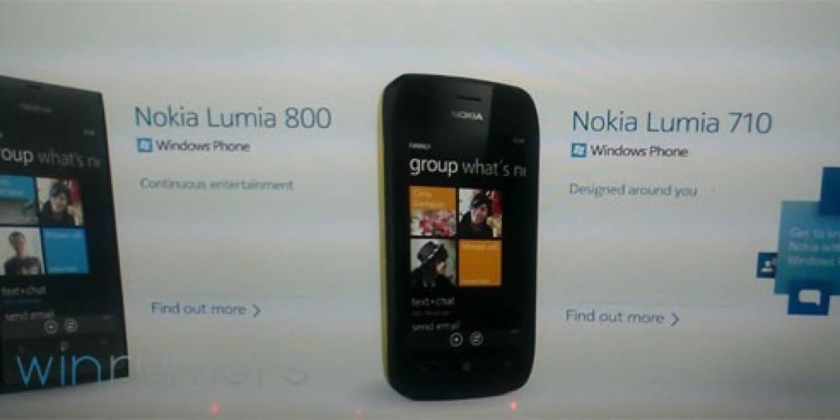 Nokia presentará dos teléfonos con WP7 en la Nokia World: El Lumia 800 y el Lumia 710