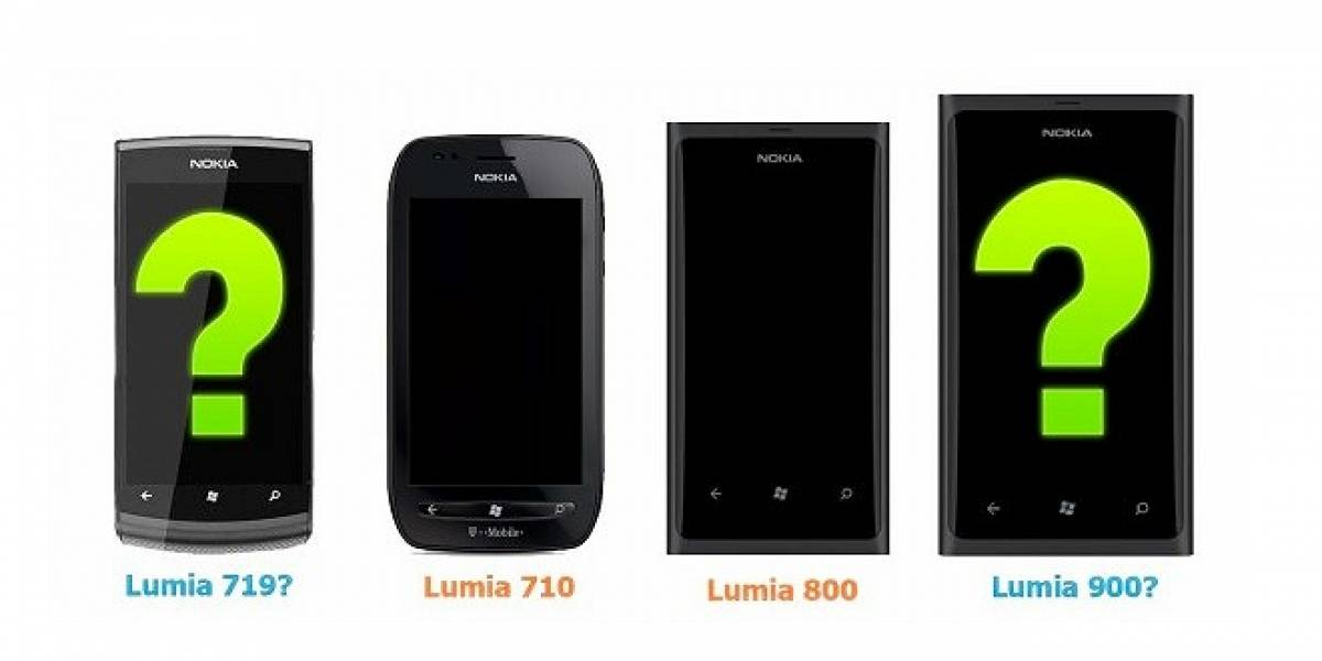 Se filtran las fechas de lanzamiento del Lumia 900 y 719