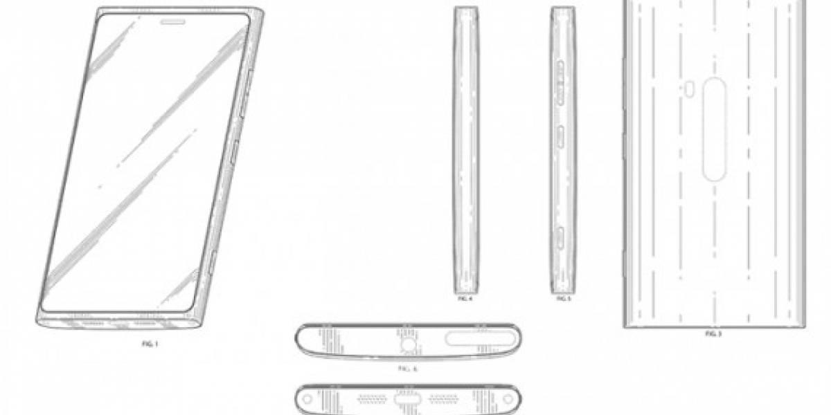 Patente revela diseño de equipo Nokia con Windows 8
