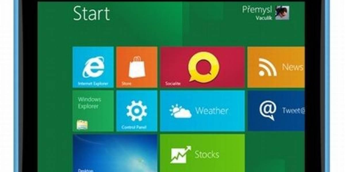 Nokia pretende lanzar una tableta con Windows 8
