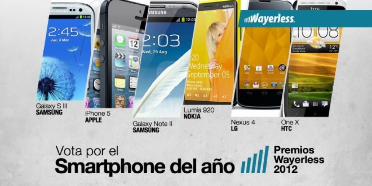 Vota por el Smartphone del Año 2012