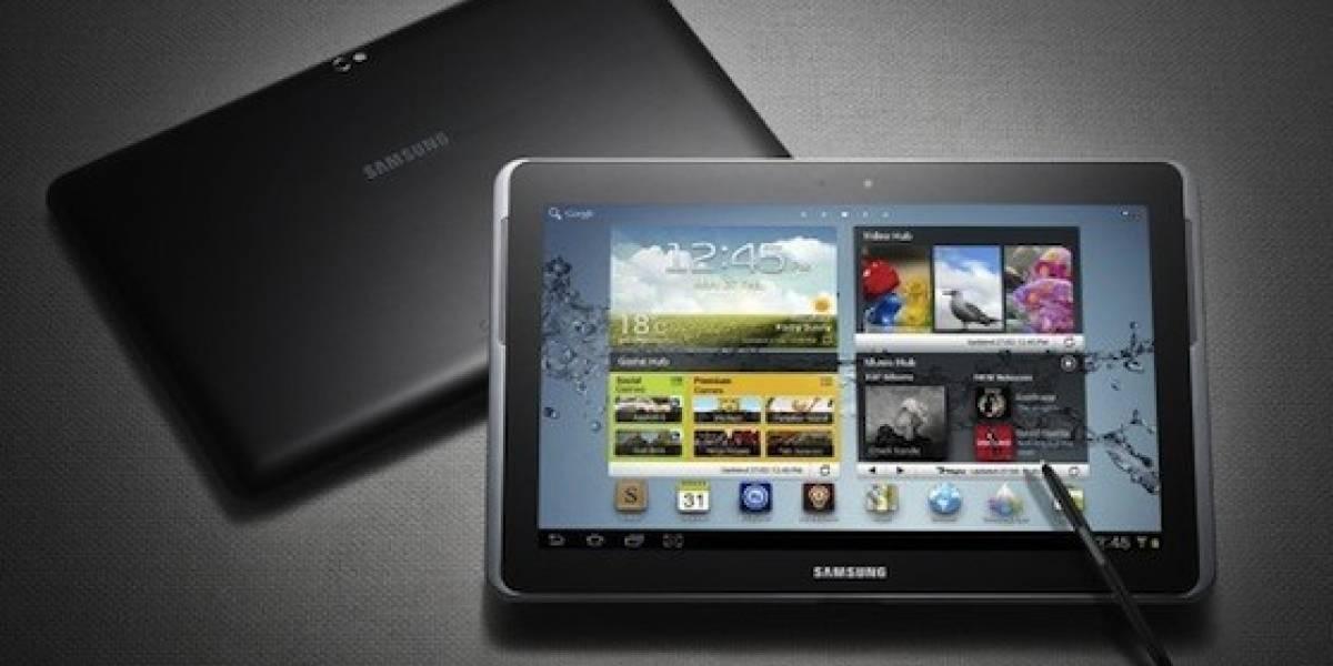 MWC12: Samsung presenta su Galaxy Note 10.1