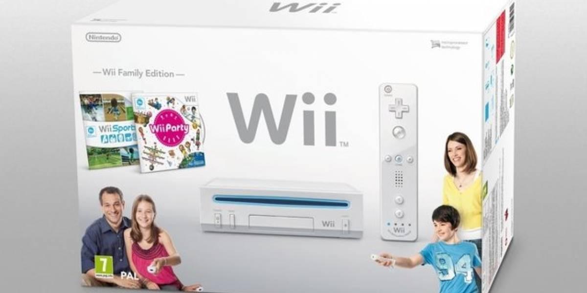 Nueva Wii tiene el mismo tamaño del modelo de siempre