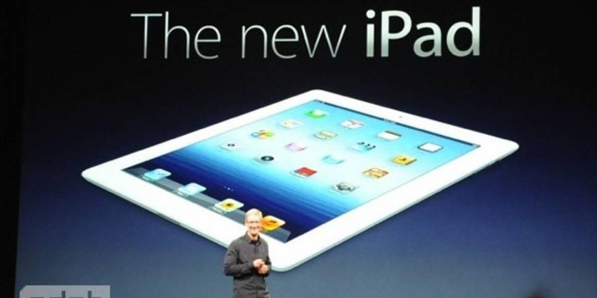 Apple anuncia un nuevo iPad con más resolución de pantalla que las consolas