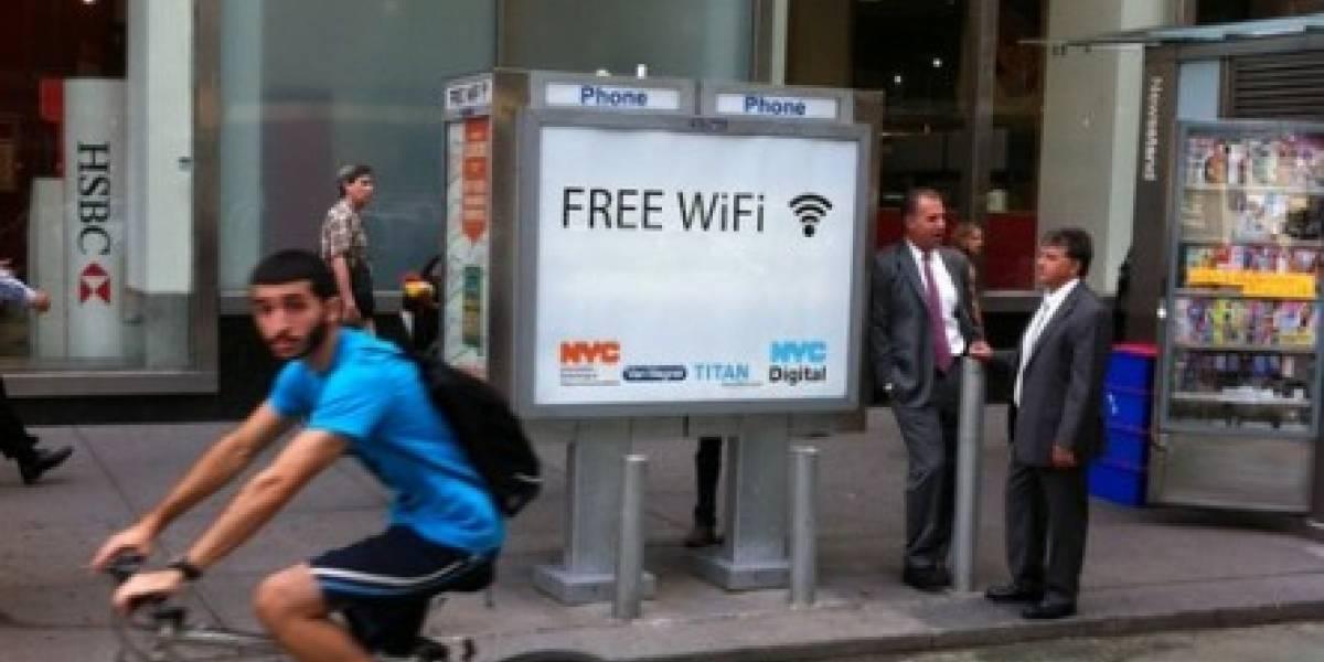 Cabinas telefónicas se convertirán a puntos Wi-Fi gratuitos en Nueva York