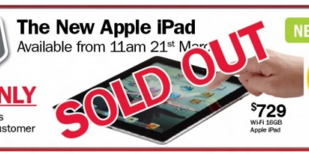The Warehouse comienza a vender nuevo iPad en Nueva Zelanda y se agota