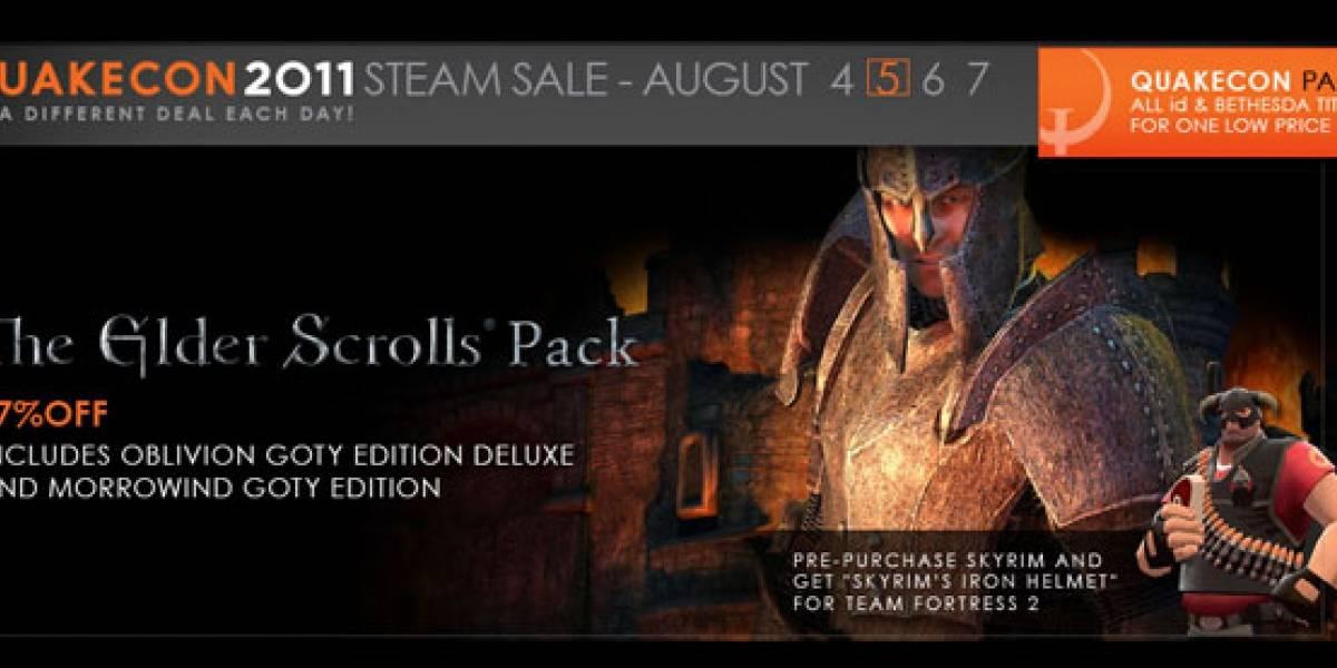 The Elder Scrolls es la oferta de hoy en Steam [QuakeCon 11]