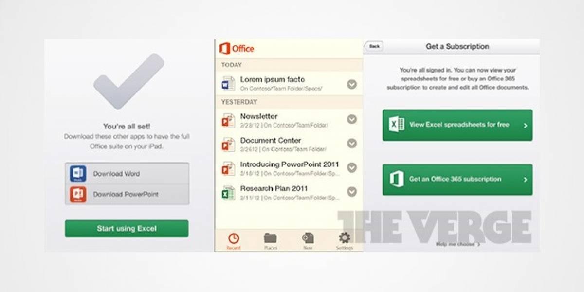 Página de Microsoft confirma Office Mobile para iOS, y Excel y PowerPoint para iPad