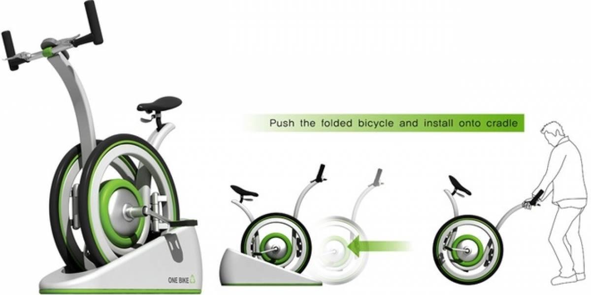 OneBike, concepto de bicicleta dos por uno