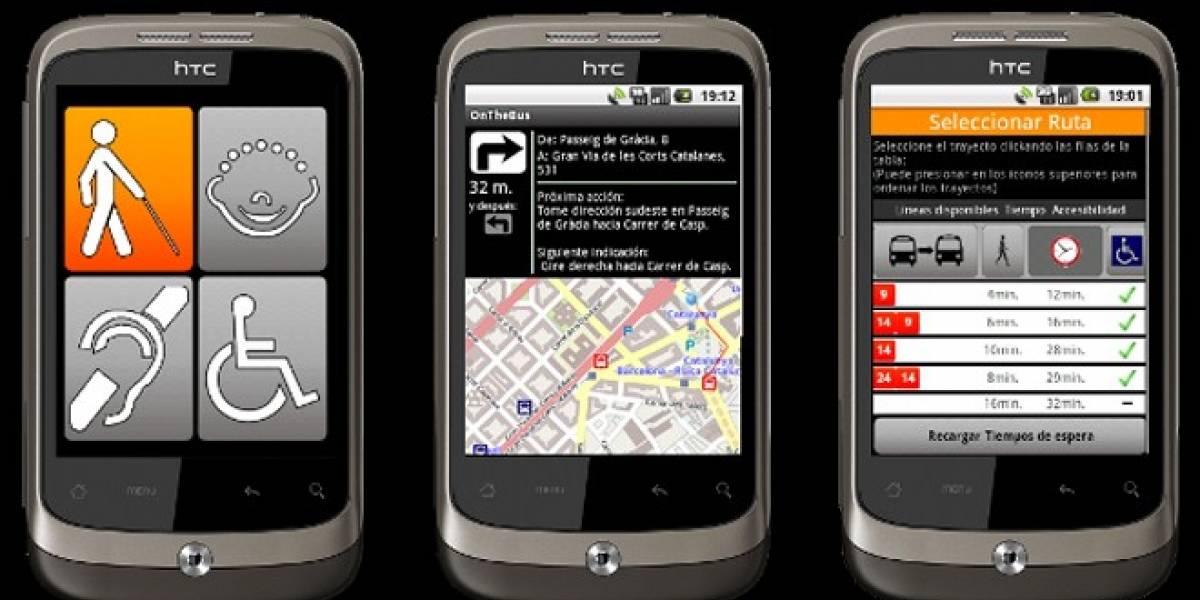 OnTheBus, una aplicación Android adaptada a los invidentes