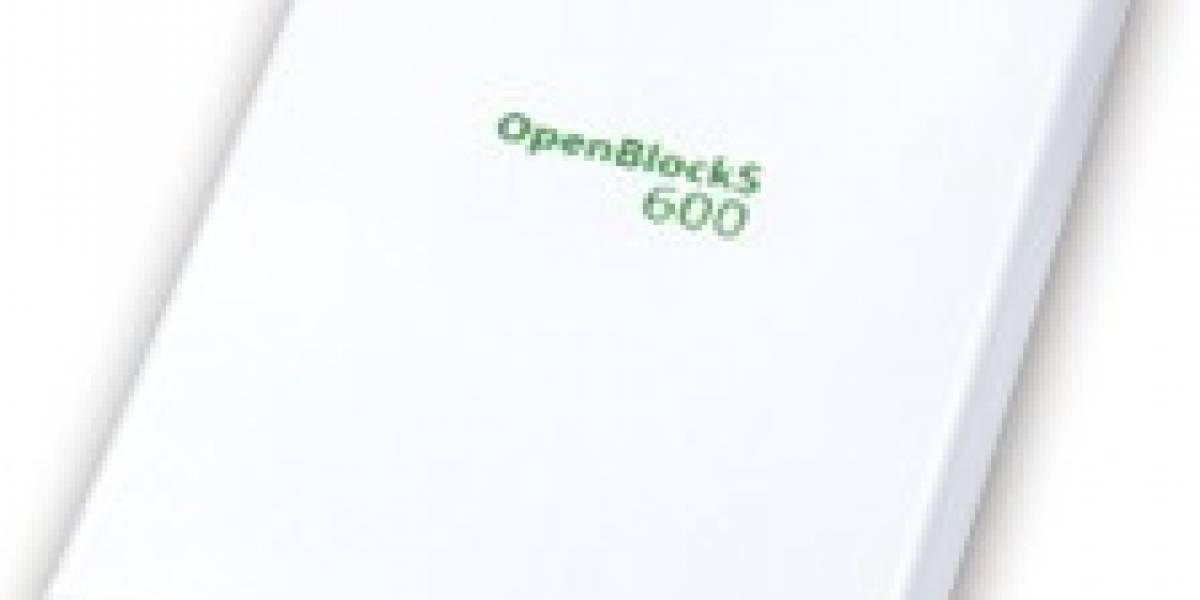 OpenBlockS 600: Un pequeño gran servidor con Linux