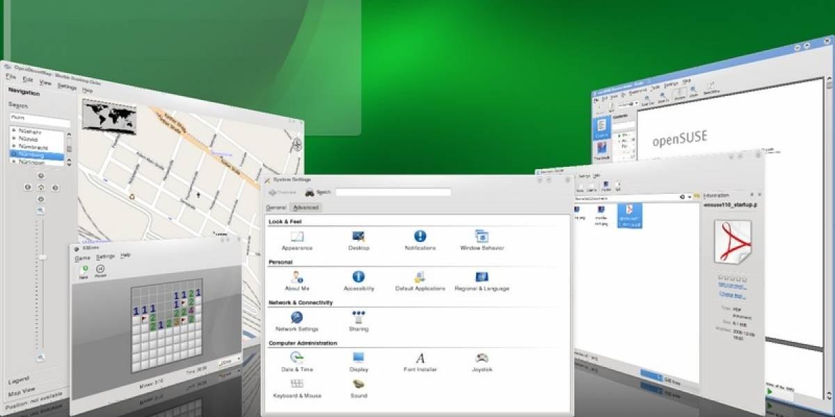 KDE o Gnome en openSUSE, he ahí la cuestión