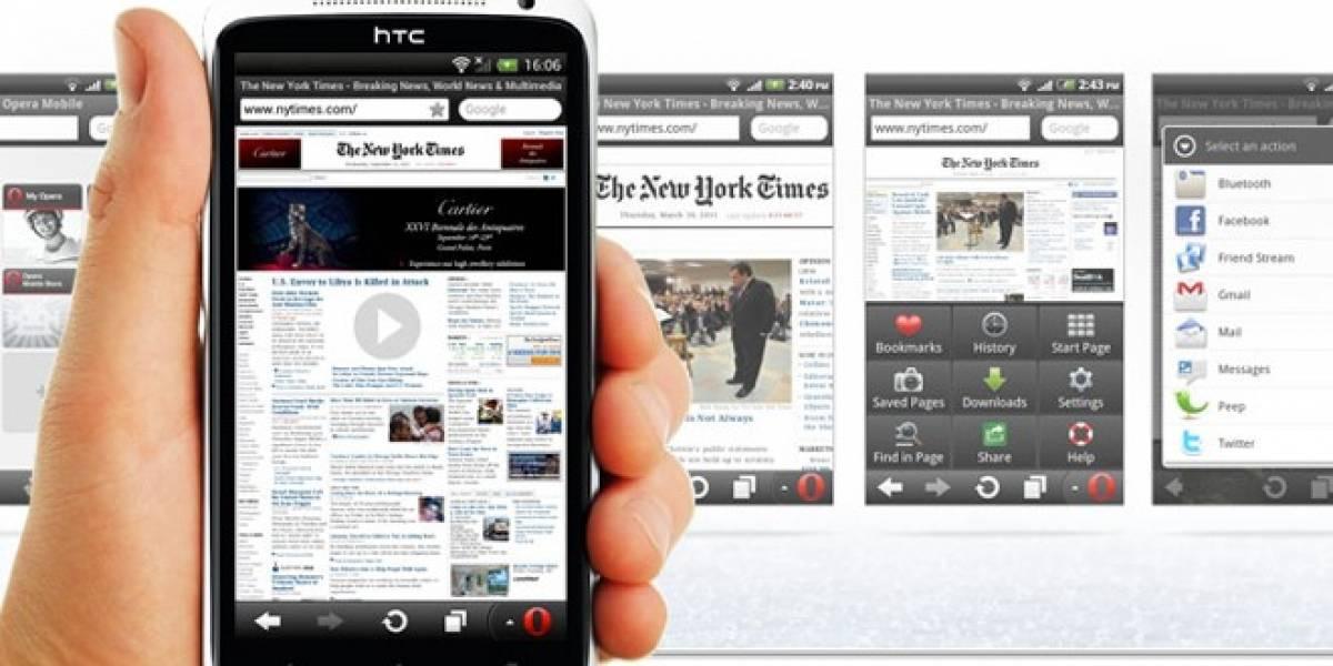 Navegador web Opera está ansioso por llegar a Windows Phone 8