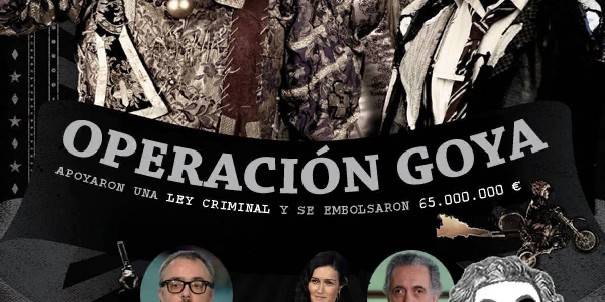 """España: Detalles de la """"Operación Goya"""" de Anonymous contra la Ley Antidescargas"""