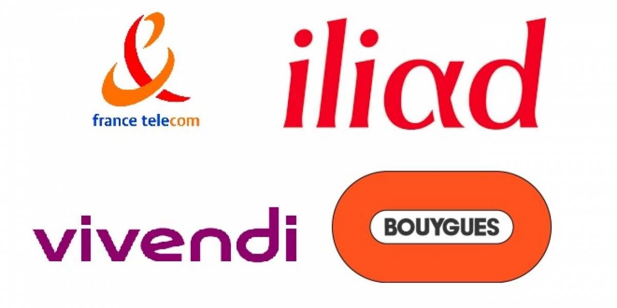 Francia: Las cuatro principales operadoras hacen propuestas para concesiones de 4G